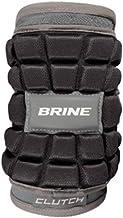 Brine Clutch Lacrosse Elbow Pads - 2016 Model Black Medium