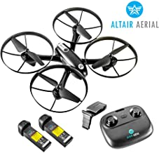 Altair Falcon AHP | Drone with Camera for Beginners | Free Priority Shipping | Live Video 720p, 2 Batteries & Autonomous Hover & Positioning System Easy to Fly, FPV (Lincoln, NE Company)