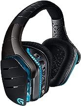 Logitech Gaming Headset G933 Artemis Spectrum, Kablosuz kulaklık sistemi, 7.1 kanalı, tam boyutlu, Siyah