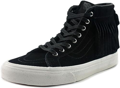 Vans Sk8-Hi Moc (suede) schwarz Weiß