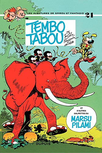 Spirou et Fantasio - Tome 24 - TEMBO TABOU