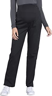 Workwear Professionals Women's Maternity Straight Leg Scrub Pant
