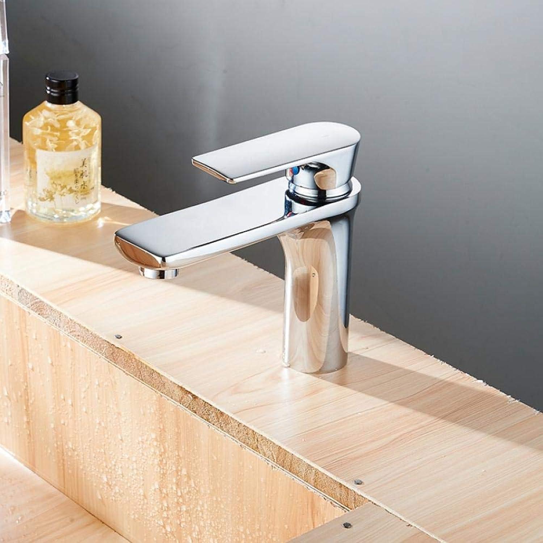 Neue Badezimmer Waschbecken Wasserhahn Chrom Einhand-Waschtischarmatur Wasserhahn Mixer Hot & Cold Water Bad-Accessoires