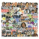 100 PCS The Office Stickers Pack, The Office Fan Gift, The Office TV Show Merchandise Stickers for Laptop Water Bottles Phone Case