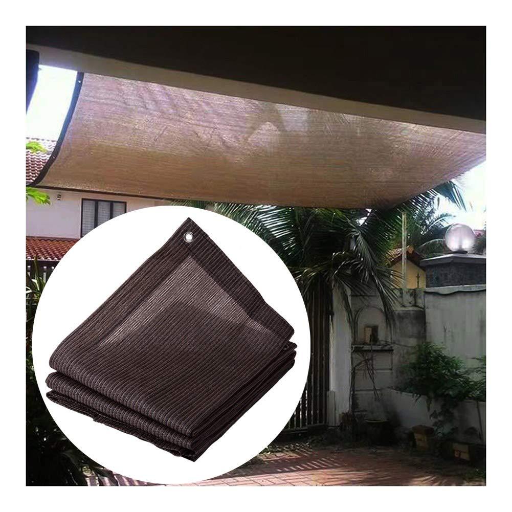 GGYMEI Malla Sombra De Red, Bloqueador Solar marrón con 85% De Cauchos for Cubierta Vegetal Invernadero Granero Perrera Piscina Pérgola (Color : Brown, Size : 4x6m): Amazon.es: Hogar