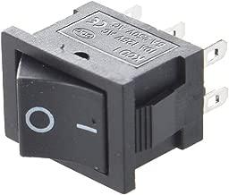 R S3HL-08 2 Position 3 Via Mango de Control Manual Neumatica Mecanica Valvula SODIAL