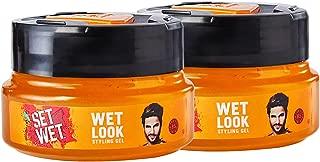 Set Wet Wet Look Hair Styling Gel for Men, 250 ml (Pack of 2)