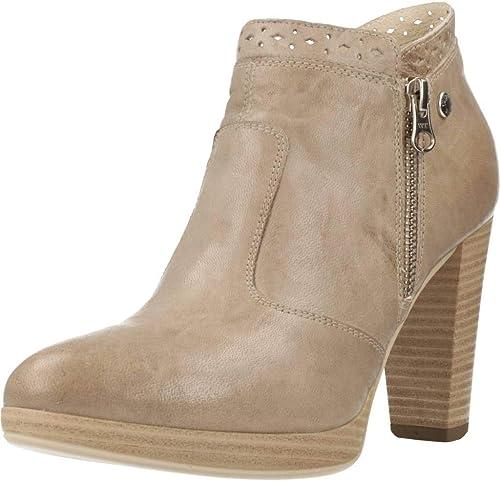 Nero giardini trochetti stivali in pelle per donna 5334_6-607,8-165
