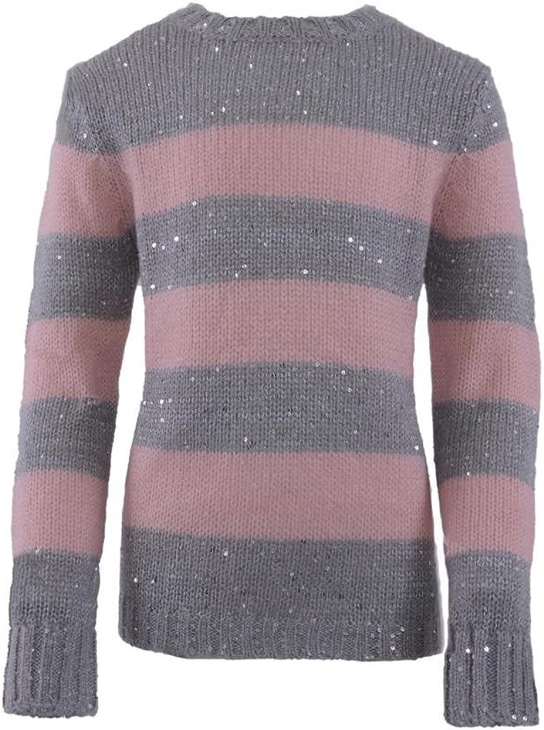 Pinc Premium Big Girls' Scoop Neck Sweater