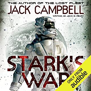 Stark's War audiobook cover art