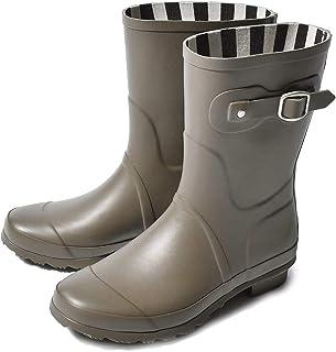 [トドス] レインブーツ ショート ラバー レインブーツ TO-132 レディース 靴 長靴 雨靴 梅雨 防水