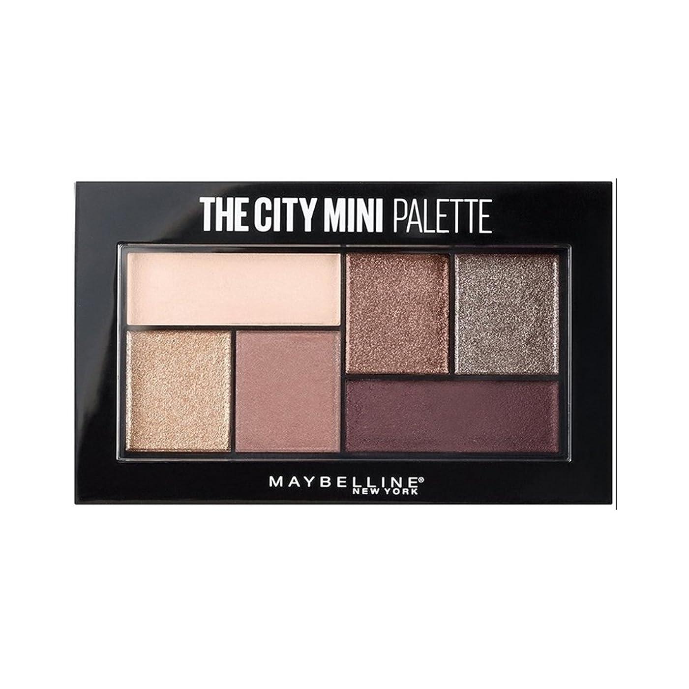 保安ニコチン道路を作るプロセス(3 Pack) MAYBELLINE The City Mini Palette - Chill Brunch Neutrals (並行輸入品)