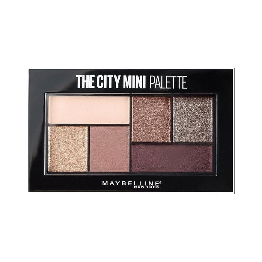 狐円形罹患率(3 Pack) MAYBELLINE The City Mini Palette - Chill Brunch Neutrals (並行輸入品)