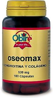 Oseomax 534 mg. Con colágeno. condroitina. vitamina C y manganeso. 100 cápsulas