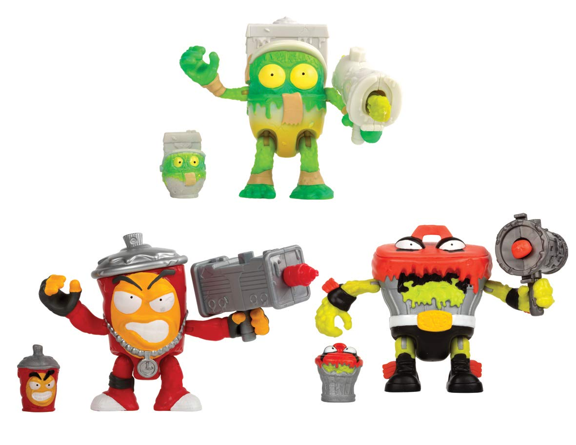 Multi-Colored Grossery Gang 69041 Season 2 Super Sized Pack Toy
