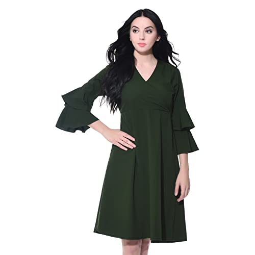 Wrap Dress  Buy Wrap Dress Online at Best Prices in India - Amazon.in 9937efb8f