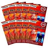 M&H-24 Wärmepflaster bis 12h für Rücken, Nacken, Bauch - Wärmekissen Wärmepads Rückenwärmer Nackenwärmer Wellnesprodukt für Massage & Entspannung Selbstklebend Set 20 Stück
