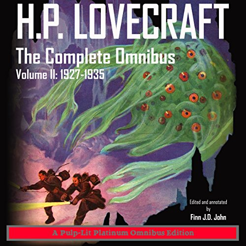 H.P. Lovecraft, The Complete Omnibus, Volume II: 1927-1935 audiobook cover art