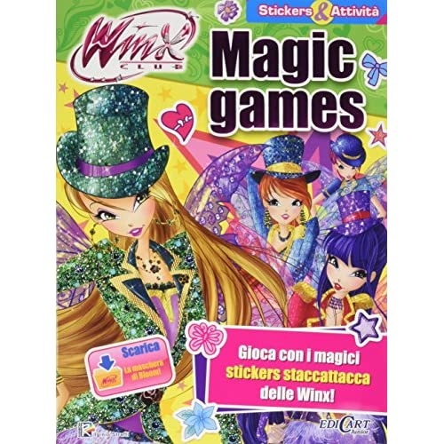 Magic games. Winx club. Con adesivi. Ediz. illustrata. Con aggiornamento online