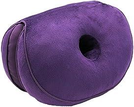 Dual Comfort Cushion Memory Foam Seat Cushion Lift Hips Up Cushion Posture Support Cushion,Coccyx Pain & Sciatica Relief C...