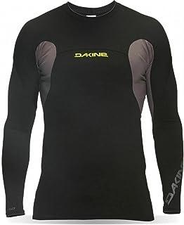 Dakine Men's Polybro Snug Fit Long Sleeve Rashguard, Black, XL