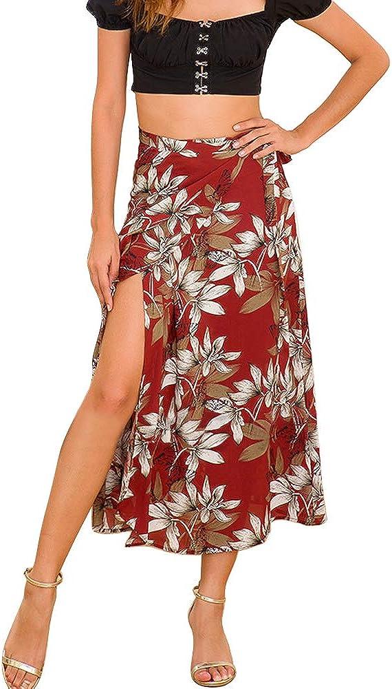 GERINLY Summer Sarong Pareo for Women Beach Cover Ups Fashion Wrap Maxiskirt