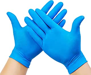 AVO+ 20 Pack Extra Small Disposable Gloves, Hypoallergenic Latex Free Protective, Extra Strong Premium Nitrile Gloves, Ide...