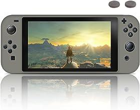 J&D Compatible para Nintendo Switch Funda, [Cojín Fino] [Parachoques Ligero] [Protección contra Caídas] Resistente Funda TPU Protectora para Nintendo Switch - Negro