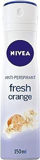 NIVEA Fresh Orange Deodorant For Women Spray, 150 ml, 85323