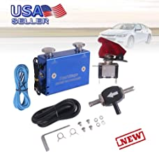Boost Controller, Blue Dual Stage Electronic Turbocharger PSI Boost Controller Kit/w Switch - US STOCK