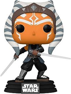 Funko Pop! Star Wars: The Mandalorian - Ahsoka con sables de luz