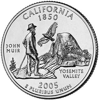 2005-P&D California BU State Quarters