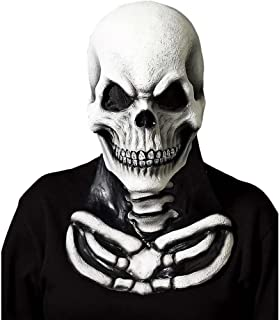 Skull Mask with Skeleton Chest Piece