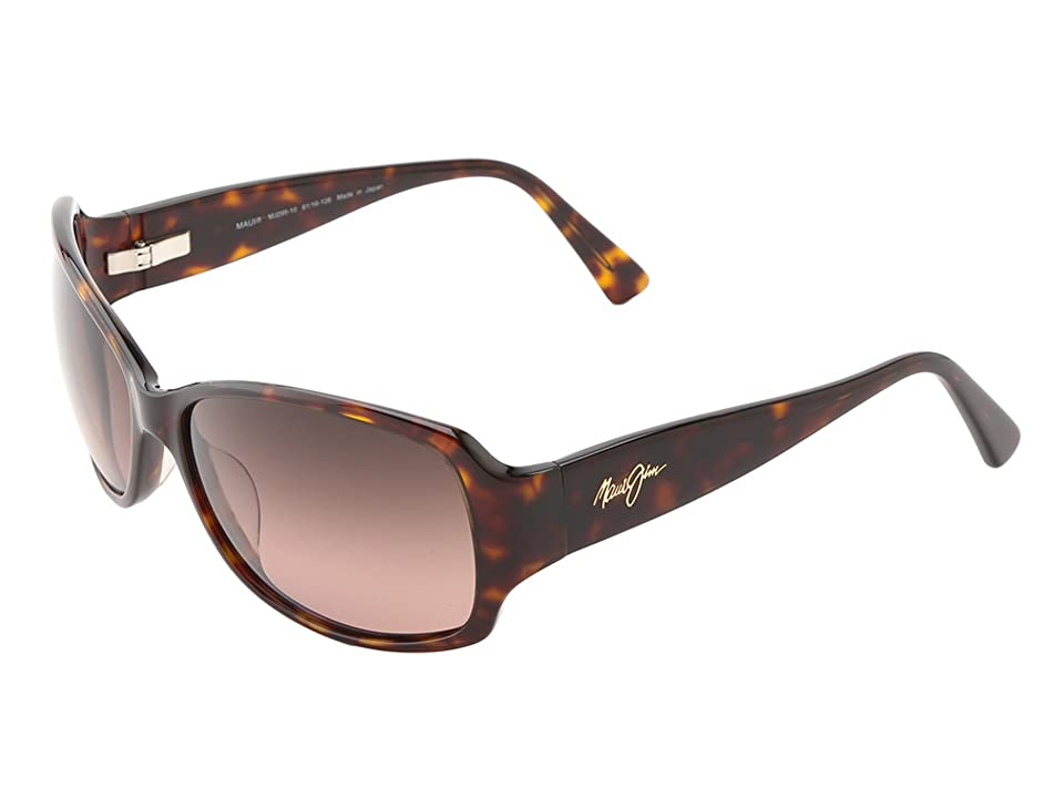 Maui Jim Nalani (Dark Tortoise/Maui Rose) Polarized Sport Sunglasses