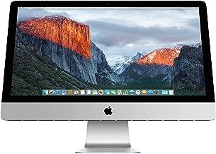Apple iMac MK472LL/A 27-Inch Retina 5K Desktop (3.2 GHz Intel Core i5, 8GB DDR3, 1TB, Mac OS X) (Renewed)
