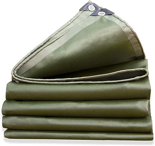 TOASD Bache Couverture de remorque de Tente imperméable au Sol   Diverses Tailles de bache UV   Résistant à l'usure
