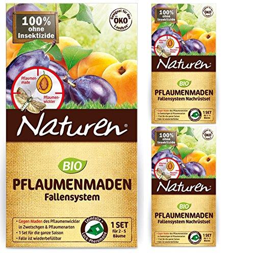 Celaflor Naturen Pflaumenmaden-Falle 1 Set+2 Nachf
