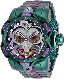 ساعت مچی مردانه Invicta Reserve DC Comics Joker Green Purple 52mm 30124