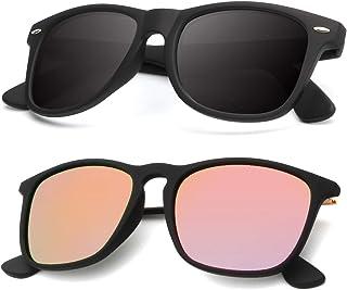 Polarized Sunglasses for Men and Women Matte Finish Sun...