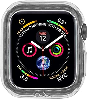 Case-Mate - Apple Watch Bumper Case - 42mm 44mm - NAKED TOUGH - Apple Watch Series 1, 2, 3, 4, 5 - Clear