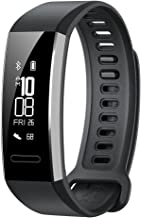 Huawei Band 2 All-in-One Activity Tracker Smart Fitness Wristband |Multi-Sport Mode| Heart Rate | 5ATM Waterproof, Black (...