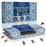 Kimimara Cucaracha Trampas, 12 Pcs Trampas para cucarachas