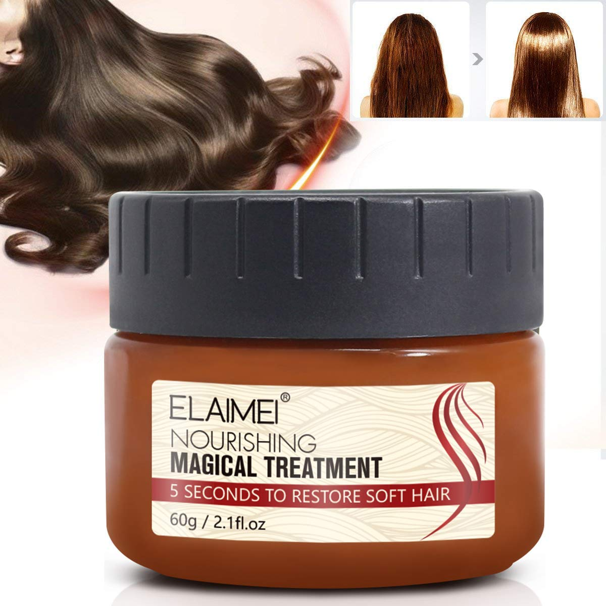 Magical hair treatment mask Hair Max 67% OFF Seconds Time sale Mask Repairs 5