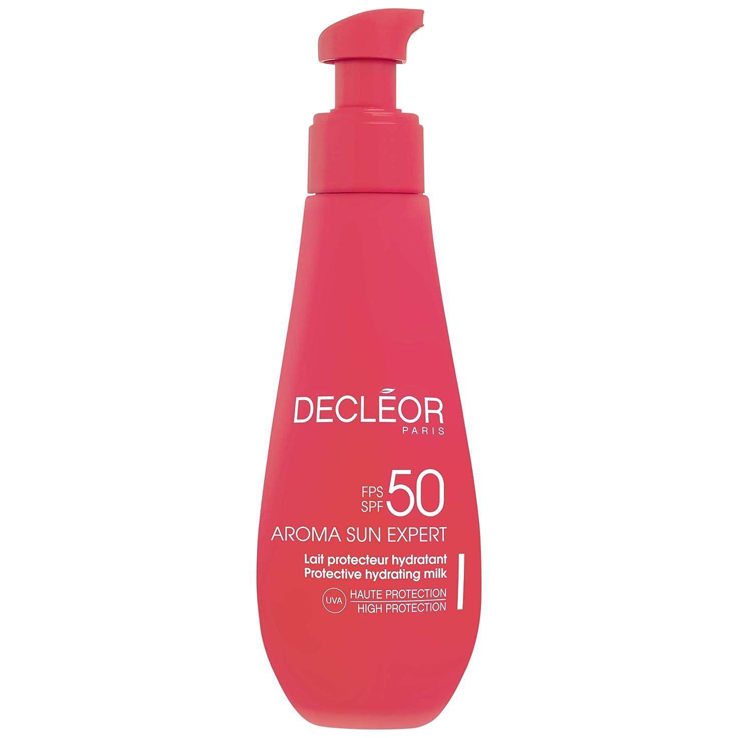 フェロー諸島晩ごはん仕出します[Decl?or ] デクレオールアロマ日の専門家で超保護抗シワクリームSpf50 - ボディローション150Ml - Decl?or Aroma Sun Expert Ultra Protective Anti-Wrinkle Cream SPF50 - Body 150ml [並行輸入品]