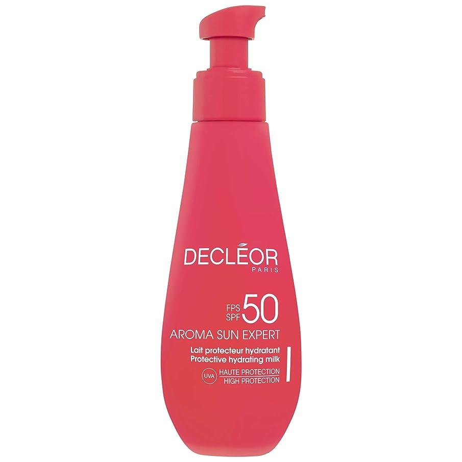 石灰岩亜熱帯保証金[Decl?or ] デクレオールアロマ日の専門家で超保護抗シワクリームSpf50 - ボディローション150Ml - Decl?or Aroma Sun Expert Ultra Protective Anti-Wrinkle Cream SPF50 - Body 150ml [並行輸入品]