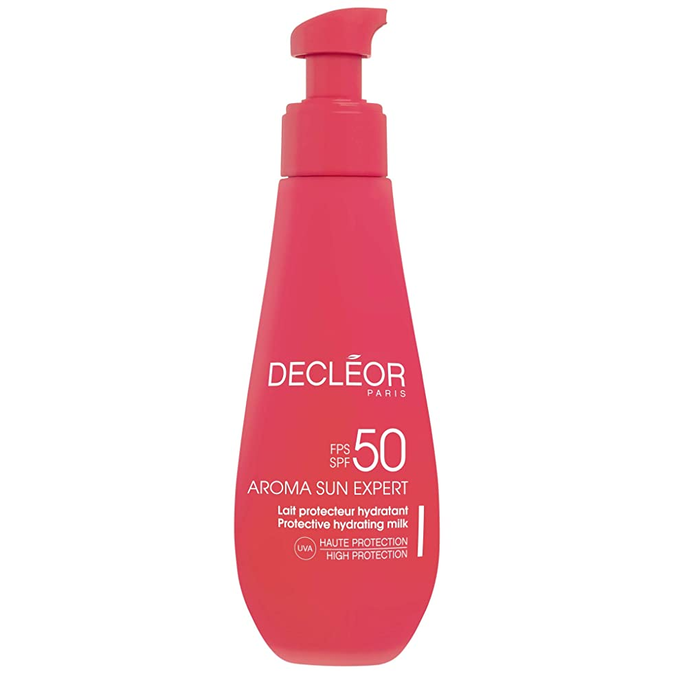 危険にさらされているベギンラグ[Decl?or ] デクレオールアロマ日の専門家で超保護抗シワクリームSpf50 - ボディローション150Ml - Decl?or Aroma Sun Expert Ultra Protective Anti-Wrinkle Cream SPF50 - Body 150ml [並行輸入品]