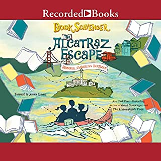 The Alcatraz Escape                   Written by:                                                                                                                                 Jennifer Chambliss Bertman                               Narrated by:                                                                                                                                 Jessica Almasy                      Length: 5 hrs and 35 mins     Not rated yet     Overall 0.0