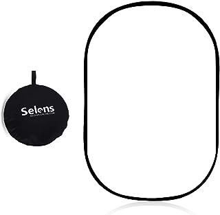 Selens ソフトディフューザー 照明リフレクター 150x200cm 写真スタジオ 折り畳み可能 キャリーバッグ付き スタジオ撮影/ビデオ撮影/屋外ポートレートに対応