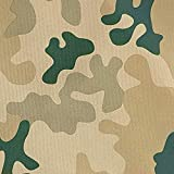 NOVELY® Oxford 210D Polyester Stoff Camouflage hell für
