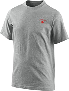 Mens Lifeguard YMCA Pool Staff Embroidery Casual T-Shirts Embroidered Shirts